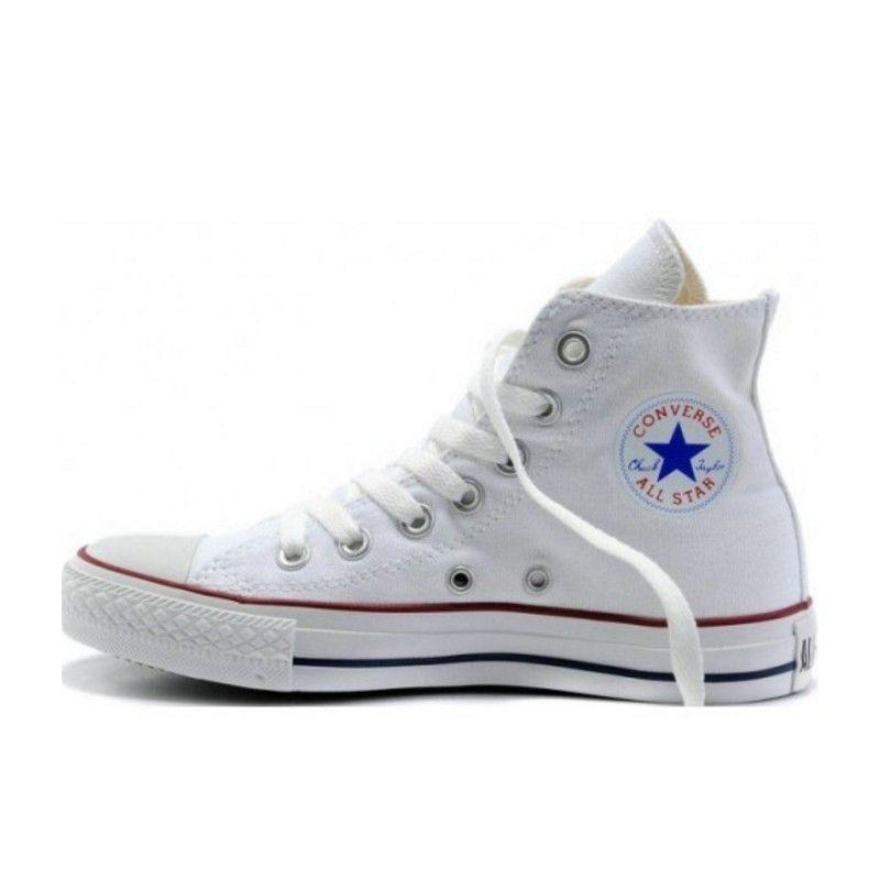 all star converse altas blancas