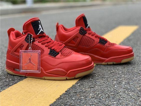 jordan 4 rojo
