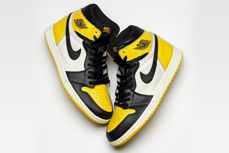 air jordan 1 amarillas