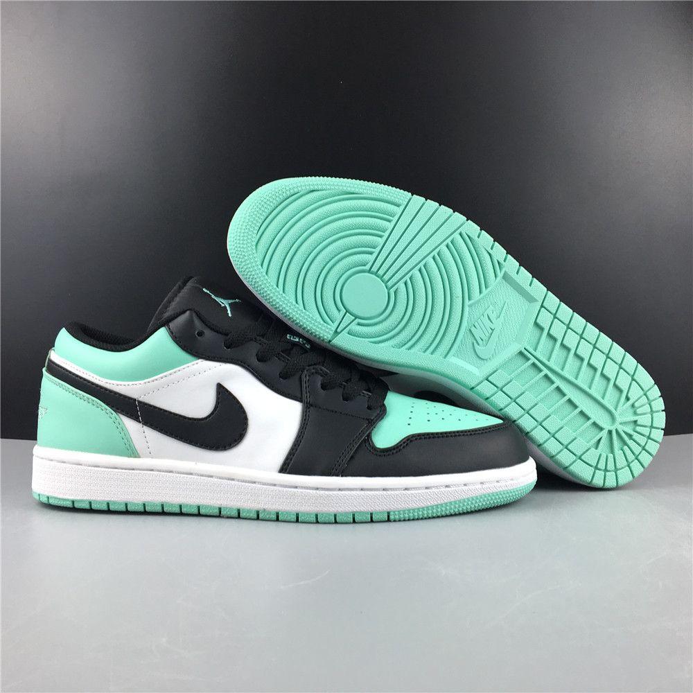 jordan 1 low emerald toe